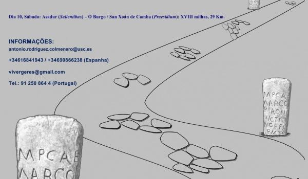 IV Caminhada Luso-Galaica pela Geira Via Nova Romana