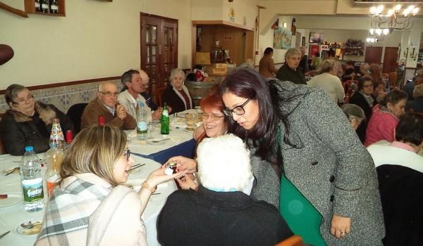 Almoço Convívio – Reis 2017 realizado no âmbito do Projeto Envelhecer a Sorrir em Terras de Bouro