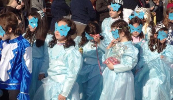 Desfile de Carnaval no dia 24 de fevereiro na vila de Terras de Bouro