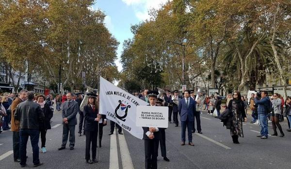 """Terras de Bouro presente nas comemorações do """"1º de dezembro"""""""