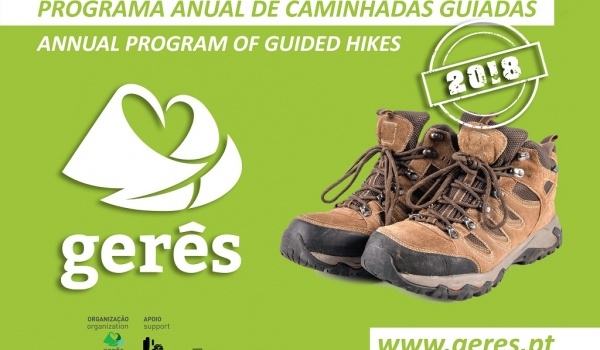 Programa Anual de Caminhadas Guiadas - 108 Dias, 108 Experiências no Gerês
