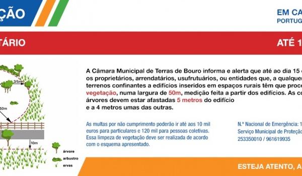 Aviso da Proteção Civil Municipal