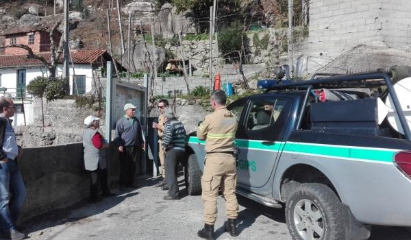 Câmara Municipal de Terras de Bouro e Grupo de Intervenção de Proteção e Socorro (GIPS) da GNR promoveram campanha de sensibilização sobre limpeza e incêndios florestais