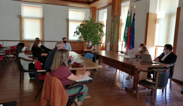 Decorreu a 9 de outubro a reunião do Conselho Municipal de Educação