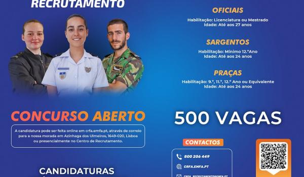 FORÇA AÉREA - CONCURSO PARA O REGIME DE CONTRATO