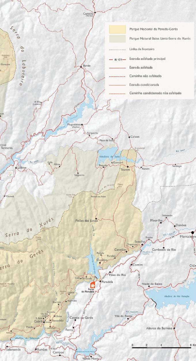 Camara Municipal De Terras De Bouro Parque Nacional Peneda Geres