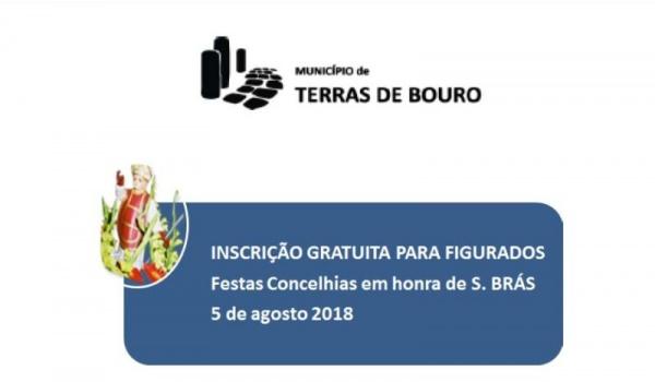 Festas Concelhias em honra de S. Brás a 5 de agosto – Inscrições gratuitas para figurados