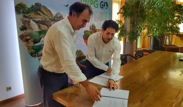 Cerimónia de assinatura de Protocolo de Colaboração entre o Município de Terras de Bouro e Associação de Defesa e Promoção do Gerês - Gerês Viver Turismo