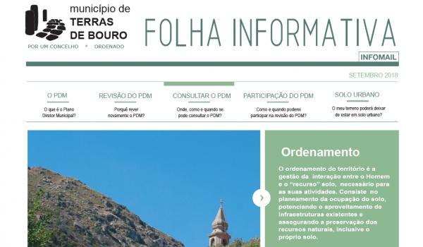 Abertura do procedimento de conformação do Plano Director Municipal (PDM)