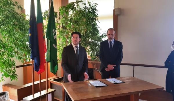 Cerimónia de assinatura de Protocolo entre o Município de Terras de Bouro e a Universidade do Minho a 7 de Novembro