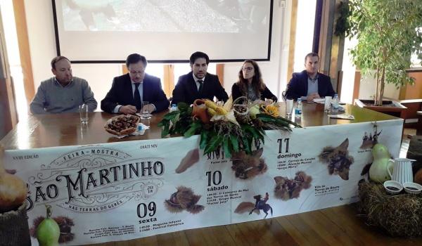 Apresentação oficial da XVIIIª Feira-Mostra de S. Martinho nas Terras do Gerês