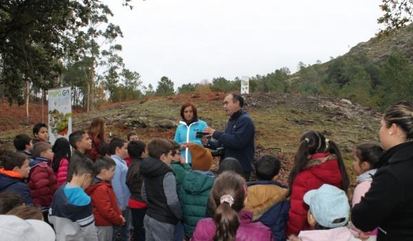 Reflorestação de áreas ardidas com plantas autóctones - Arboreto PNPG GO
