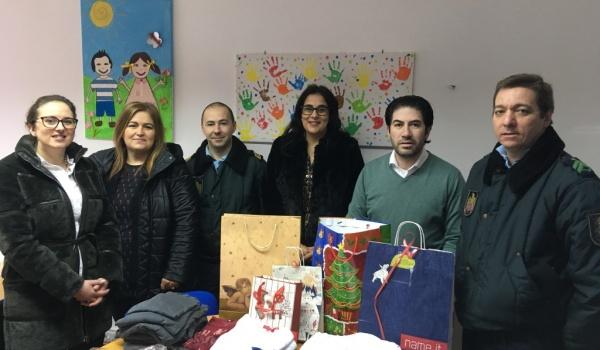 GNR do Gerês entrega vestuário e brinquedos em ação de solidariedade
