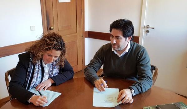 """Assinatura do Contrato de """"Construção da Ecovia do Homem – Lanço entre a Ponte de Gondoriz e o Açude de Moimenta"""""""