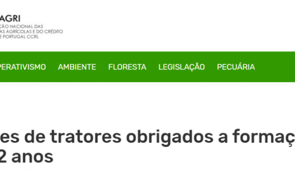 Formação Profissional - Parceria CONFAGRI / Câmara Municipal de Terras de Bouro