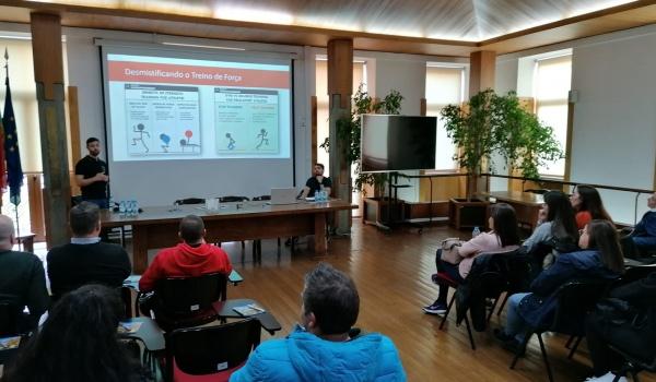 Palestra sobre a condição física no desporto amador decorreu  a 8 de fevereiro