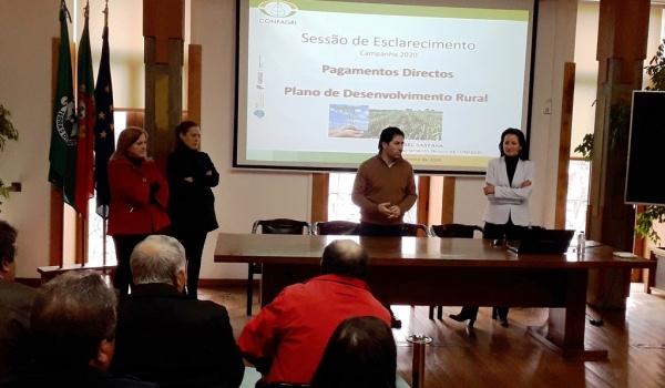 Gabinete de Apoio ao Agricultor e CONFAGRI prestaram esclarecimentos destinados aos agricultores de Terras de Bouro