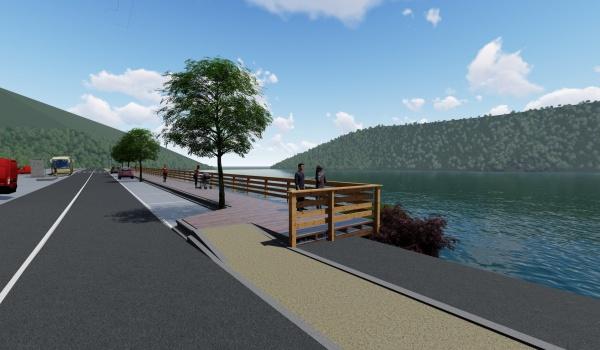 Início das obras da Rede Pedonal entre Rio Caldo e Vilar da Veiga