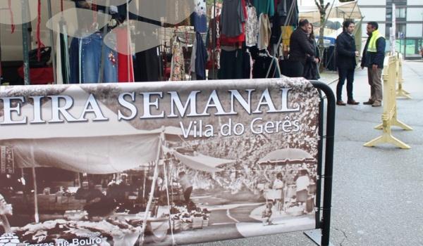 Feira Semanal da Vila do Gerês - Reabertura dia 5 de junho