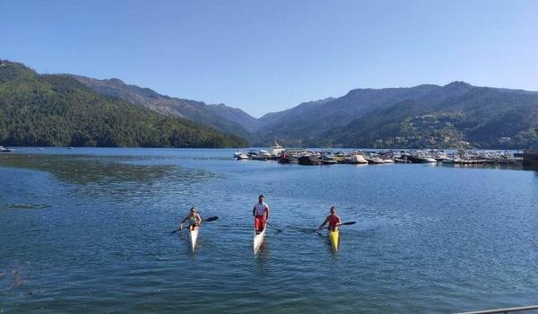 Estágio da Equipa Olímpica de Canoagem em  Terras de Bouro até dia 29 de maio