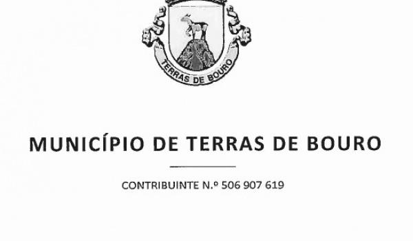 EDITAL - Limpeza urbana da Vila de Terras de Bouro - Proibição de estacionamento e permanência de veículos e bens na via pública