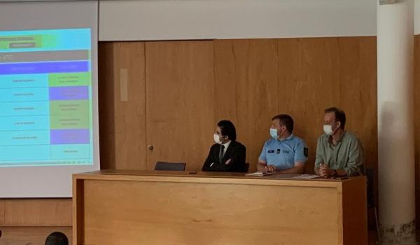Reunião do Centro Coordenador Operacional Distrital decorreu a 3 de julho