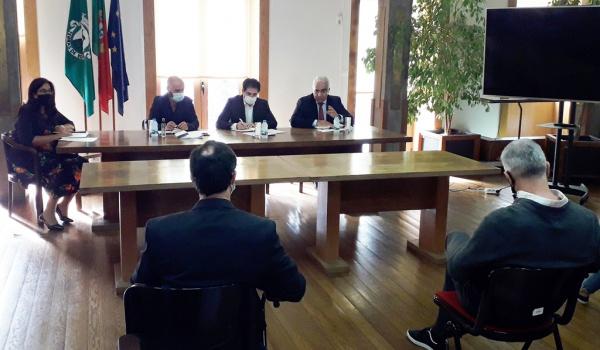 Reunião de trabalho com o Diretor Distrital de Braga da Segurança Social