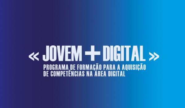Programa «Jovem + Digital», programa de formação para a aquisição de competências na área digital