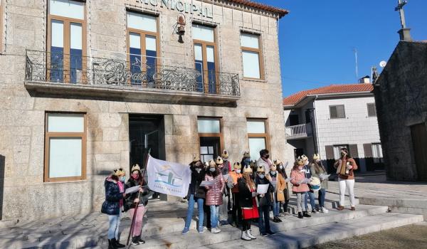 Cantares dos Reis na Câmara Municipal de Terras de Bouro a 8 de janeiro