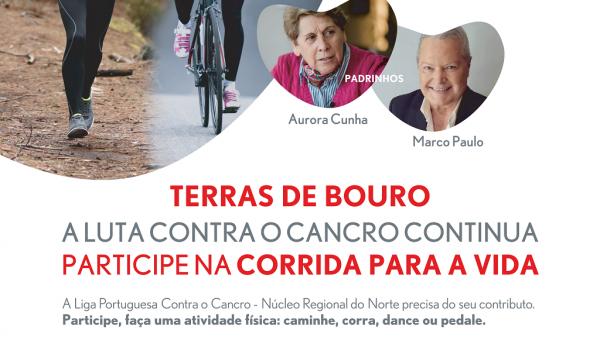 De 16 a 30 de maio decorre a 2ª edição da CORRIDA PARA A VIDA
