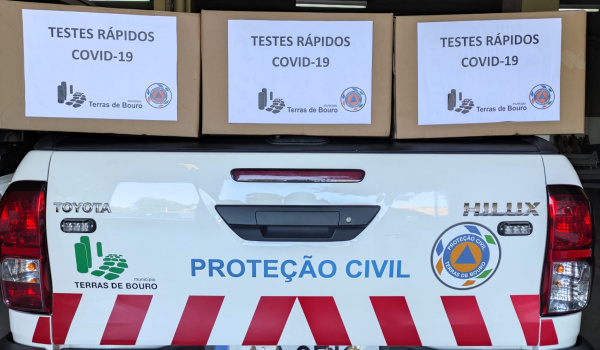 MUNICÍPIO DE TERRAS DE BOURO VOLTA A DISPONIBILIZAR TESTES RÁPIDOS DE COMBATE À COVID-19