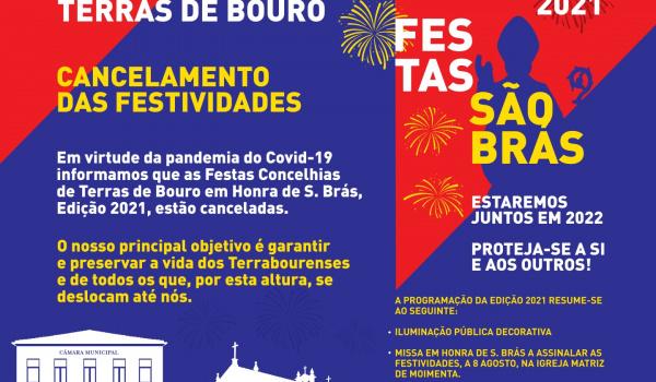 Cancelamento das Festas Concelhias 2021