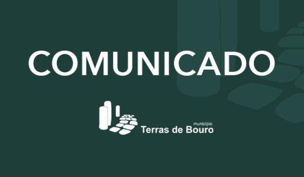 Cancelamento das feiras municipais em Terras de Bouro até dia 30 de janeiro